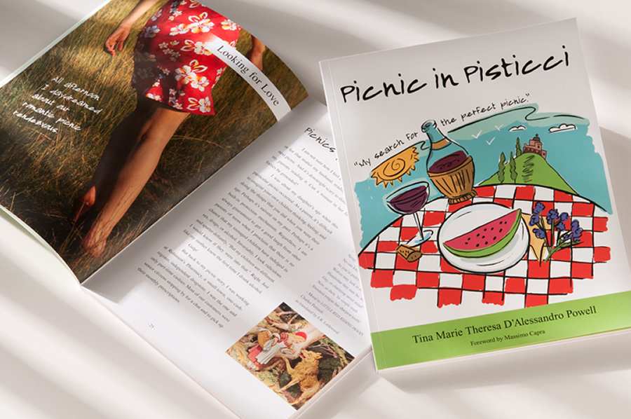 Book Picnic In Pisticci by Speaker Tina Powell
