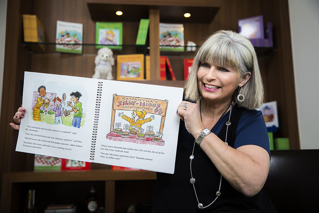 Tina Powell School Author Visit Video